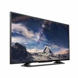 Black Wall Mount Reintech 40 Inch HD LED TV, Resolution: 3840 X 2160 Pixels