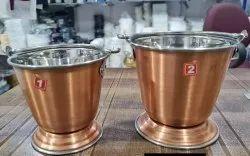 Copper Dal Bucket
