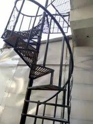 Spiral Iron Stair Case