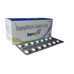 Dapagliflozin 5mg Tablets(Daprozin-5)