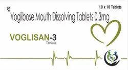 Voglibose Tablets 0.3 Mg--VOGLISAN-3