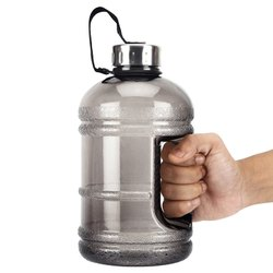 Gallon Water Bottle, Sports Fitness Exercise Water Jug for Gym
