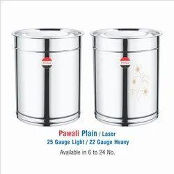 STAINLESS  STEEL  PAWALI -PLAIN