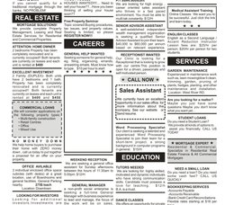Newspaper Classified Advertisement Service, in Pan India