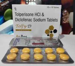 Tolperisone 150mg+Diclofenac 50 mg Tablet