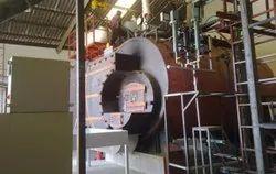 Nutshell Fired 5 TPH Fully Wetback Steam Boiler