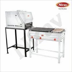 Chapati Making Machine With Puffer