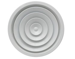 Polished Aluminum Round Ceiling Diffuser, For Air Conditioner, Shape: Circular/Round