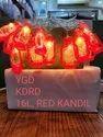 Red Kandil String Light
