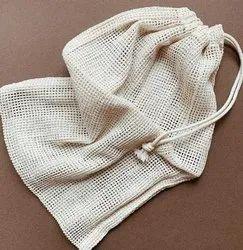GOTS certified cotton mesh bags