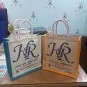 Custom printing jute thamboolam bag