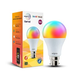 Ceramic Round 9W Wipro Next Smart LED Bulb
