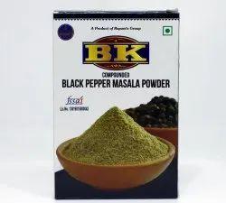 500 g BK Black Pepper Masala Powder, Packaging Type: Box