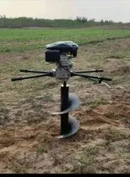 MECSTROKE Brand 4Stroke 196cc Heavy Duty Petrol Operated Earth Auger