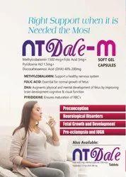 Methylcobalamin 1500 mcg L-Methylfolate 1 mg Pyridoxal 5-Phosphate0.5 MG Tablets