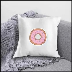 iKraft Cushion Cover (Without Filler) Design - Donut