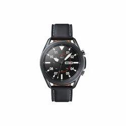 Round Samsung Galaxy Watch 3 45mm Bluetooth (Mystic Black),sm-r840nzkains, For Daily, 300gm