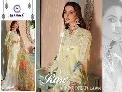 Shanaya Rose Mbroidered Lawn Pakistani Salwar Kameez Collection