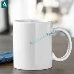 Plain White Ceramic Sublimation 11 OZ Mug, For Gifting
