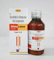 Sucralfate And Oxetacaine Suspension, Packaging Type: Bottle