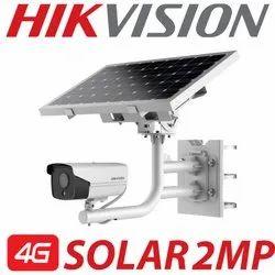 Hikvision 4G Solar 2mp Bullet Camera
