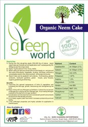 Green World Organic Neem Cake / Neem Khali