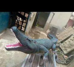 Crocodial  Animal Statue