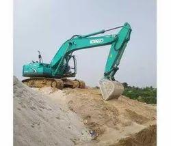 Kobelco Excavator Rental Service, in MP and Gujarat