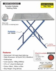 Portable & Foldable Welding Table