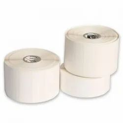 White Paper Stickers, Packaging Type: Roll, Size: 58*43mm