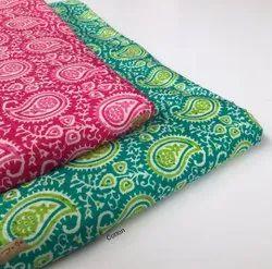 Cambria Cotton Fabric, Traditional, Multicolour