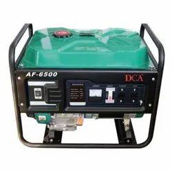 DCA 5 KVA Self Start Portable Generator