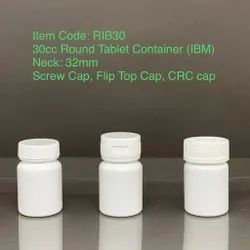 Tablet Containers With CR Cap 30cc