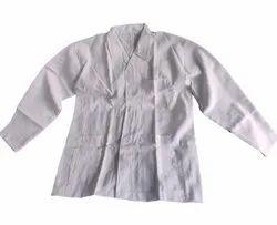 White Pharmaceutical Lab Coat, For Laboratory, Machine wash