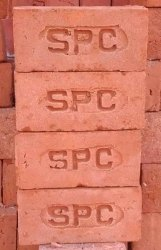 SPC Rectangular Burnt Red Clay Brick, Size: 9 X 3.5 X 2.5 Inch