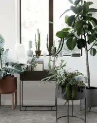 Small Decorative Metal Planters