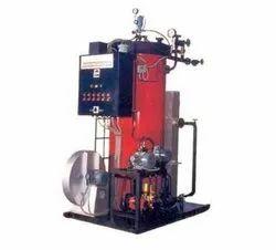Oil & Gas Fired 100 Kg/hr Steam Boiler, Non IBR