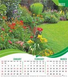 Four Sheet Wall Calendar 203- Scenary