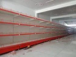 Mild Steel Supermarket Grocery Display Racks