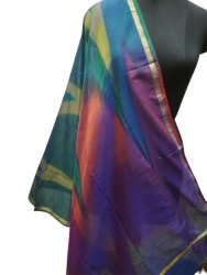 Silk Rainbow Duppatta