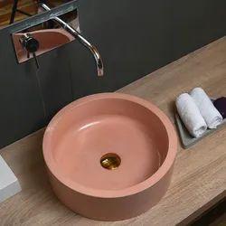 Concrete Basin CLIQ, Designer Washbasin, Bathroom Basin