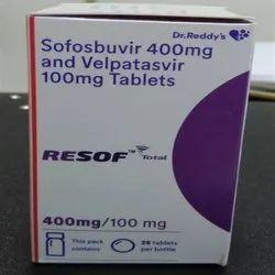 Resof Sofosbuvir 400 Mg Tablets