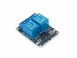 2 Channel 12V Relay Module with Optocoupler