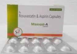 Rosuvastatin 10 Mg+Asprin 75 Mg