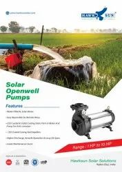 10HP AC Solar Openwell Submersible Pumps