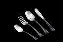 Trident Black Titanium 2 Tone Cutlery