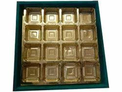 Cardboard Plain Assorted Chocolate Gift Box, For Used for Packaging, Size: 12 X 12 X 4 Inch