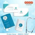 300 To 370 Gsm White Visiting Card, Size: 3.5x2 Inch