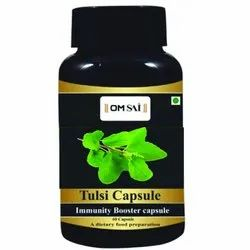 Tulsi Capsule, 500 mg, Leaves