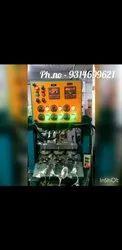 Fully Automatic Hydraulic Triple Die Dona Making Machine